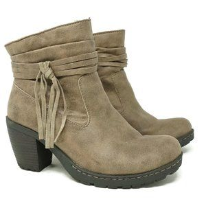 Born Concept BOC Womens Alicudi Ankle Booties 7.5